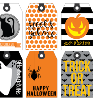 image about Free Printable Halloween Gift Tags referred to as cost-free-printable Archives - Hapagirl